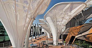 Дизайн фасадов зданий с интегрированными солнечными батареями