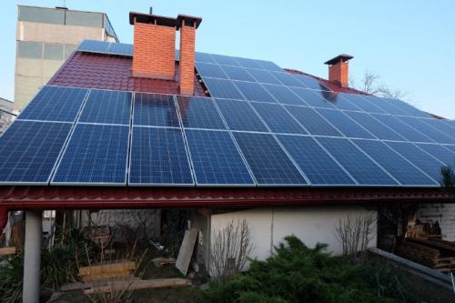 Солнечная станция 27,6 кВт номинальной мощности, г.Днепр