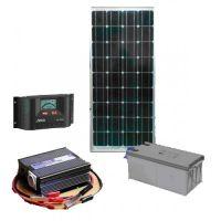 Автономная солнечная электростанция установленной мощности 3 кВт