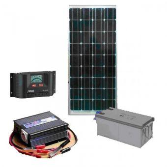 Автономная солнечная электростанция установленной мощности 10 кВт