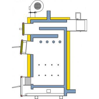 Твердотопливный котел Альтеп КТ-1Е-33 длительного горения