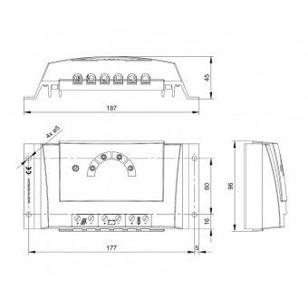 Контроллер заряда Steca Solarix-PRS 3030 (30А, 12В/24В)