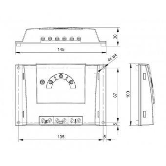 Контроллер заряда Steca Solsum 6.6F (6А,  12В/24В)