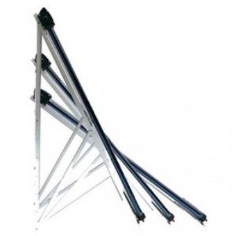Комплект задних опор для коллектора на 20 трубок (алюминий)