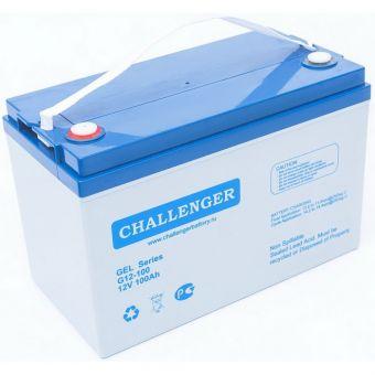 Аккумуляторная батарея Challenger G12-100 (105 А*ч, 12 В, GEL)