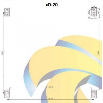 Сезонный солнечный коллектор Altek SD-T2-20 (термосифонная система)