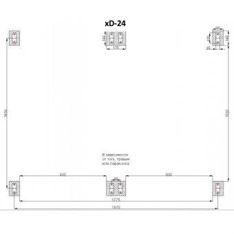 Сезонный солнечный коллектор Altek SD-T2-24 (термосифонная система)