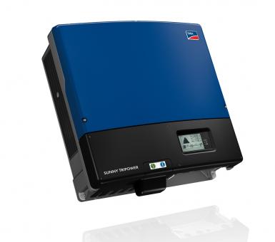 Инвертор сетевой SMA Sunny Tripower 25000 TL-30 (25 кВА, 3 фазы /2 трекера) с дисплеем