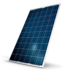 Поликристаллическая солнечная батарея (панель) фото